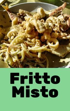 Mario Batali made a meal out of shrimp, pancake mix, anchovies, and lemons on The Chew, his Shrimp and Anchovy Fritto Misto recipe. http://www.foodus.com/the-chew-mario-batali-shrimp-and-anchovy-fritto-misto-recipe/