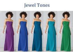 Jewel Tone Bridesmaids Most Likely Doing This