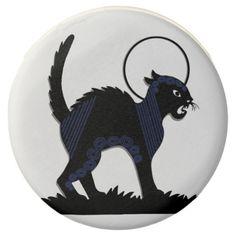 Black Cat & Moon 2 - Chocolate Dipped Oreo Cookie