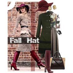 Fashionable Fall Hat by melissa-de-souza on Polyvore featuring Antonio Marras, Uttam Boutique, Gucci, Diane Von Furstenberg, Sam Edelman, Givenchy and fallhat