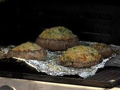 Enjoy this recipe for Roasted Portabella with Sweet Crab from Nani's Cucina in the West Shore Farmer's Market.