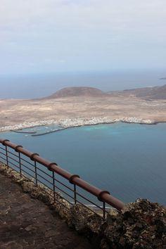 Ausblick vom Mirador del Rio, Lanzarote
