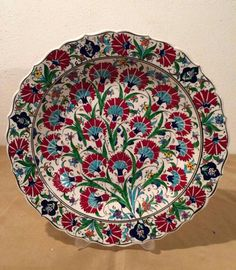 One of my sculptures is highlighted in this treasury----check it out! Lovely spring unique gifts by Cristina on Etsy Turkish Plates, Turkish Art, Turkish Tiles, Plate Wall Decor, Art Decor, Ceramic Pottery, Pottery Art, Turkish Design, Antique Plates