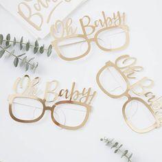 7a7993f9c31153 Oh Baby brillen (8st) Oh Baby! Ginger Ray Een photobooth met leuke grappige