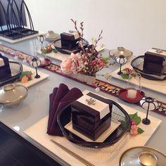 雛祭りテーブルコーディネート