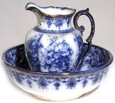 Image result for antique flow blue china