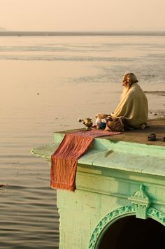 peace… at the River Ganges   - Explore the World, one Country at a Time. http://TravelNerdNici.com