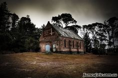 Worship Your Lord in this abandoned church found while exploring the outer-urban areas of Ballarat. Photography by James Cole. Abandoned Houses, Urban Decay, Light In The Dark, Worship, Exploring, My Arts, Lord, Cabin, House Styles