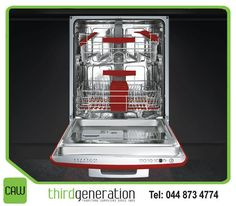 Complete your kitchen style with this dishwasher, available from