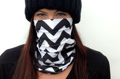 Celtek Womens Hadley Snowboarding Face Mask in chevron