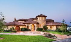 25 Stunning Mediterranean Exterior Designs Roof tiles House and