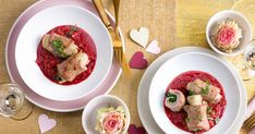 friends Magazin :: Valentin von mir für dich Risotto, Bruschetta, Ethnic Recipes, Friends, Food, Recipes For Two, Chef Recipes, Cooking, Food Food