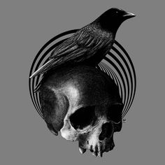 """Corvidae V"" This Artwork Are Available For Sale, So Please Give Me The Line To audiovisualimperial@yahoo.com"