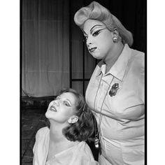 Lisa Jane Persky and Divine c. 1976, Women Behind Bars. Photo: Chris Stein