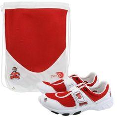 $49.95 North Carolina State Wolfpack Unisex White-Red piro Sneakers