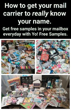 Free Samples Without Surveys, Free Samples By Mail, Stuff For Free, Free Stuff By Mail, Coupon Binder Organization, Free Sample Boxes, Freebies By Mail, Couponing For Beginners, Free Beauty Samples