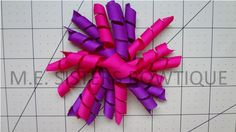 small corker bows $2.25 or 2 for 4$ 10 strands of 4 inch corker ribbon www.facebook.com/M.E.Sistersbowtique