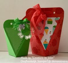 Creations by Jolan: Stampin'Up Cherry on Top Kit / Joanda Meurs