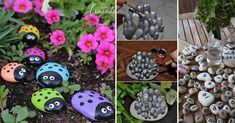 Grab that tiny stone bundle and put the little pretties to awesome use inspired by these DIY rock, stone and pebble crafts.