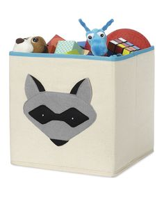Raccoon Storage Cube | Daily deals for moms, babies and kids