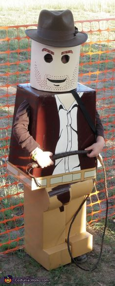 LEGO Indiana Jones: My husband took the time to make my 5 year old son's costume. He is an Indiana Jones LEGO. It took my husband about a week. My son just loves it. Cute Baby Halloween Costumes, Halloween Costume Contest, Boy Costumes, Halloween Kids, Halloween Crafts, Costume Ideas, Zombie Costumes, Halloween Clothes, Halloween Couples