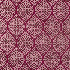 Zari - Berry - Modern grid pattern on berry red fabric from Clarke and Clarke Usa Wallpaper, Fabric Wallpaper, Red Fabric, Woven Fabric, Clarke And Clarke Fabric, Made To Measure Curtains, Pelmets, Pencil Pleat, Fabric Houses