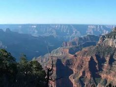 A view from the north rim.