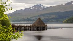 So also lebten die Schotten in der Eisenzeit: Ein Besuch im Crannog