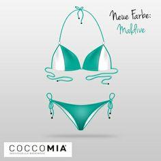 #COCCOMIA #Bikini - Neue Farbe Maldive