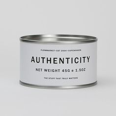 Flowmarket: Authenticity - you can't buy in a can! this is brill.