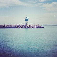 #lighthouse #leuchtturm #ocean #beach #water #summer #sommer #cotdazure #france #frankreich