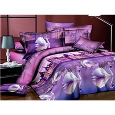 ericdress sunset beach scene print 3d bedding sets | wishlist