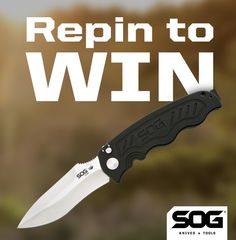 Utilizing SOG's patented assisted opening technology, the blade opens quickly with a simple push of your thumb. The anodized aluminum handle and stainless steel liners makes the knife balanced and strong. Tactical Survival, Survival Knife, Tactical Gear, Survival Gear, Tactical Knife, Cool Knives, Knives And Tools, Knives And Swords, Camping Survival