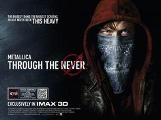 Metallica Through the Never Movie Poster