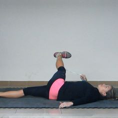 The Glute Rope Stretch Exercise is a great way to stretch out lengthen the abductor muscles of your hips – the gluteus medius and iliotibial...