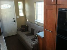 dakota tiny houses 006   255 Sq. Ft. Dakota Tiny House: Built like a House, Works like an RV