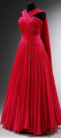1950s Jean Dessès dress. Gorgeous.  I need this And a reason to wear it.
