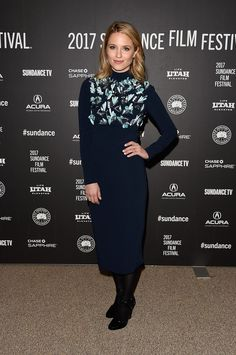 "Actress Dianna Agron in Prada attends the ""Novitate"" premiere during day 2 of the 2017 Sundance Film Festiva on January 20, 2017 in Park City, Utah."