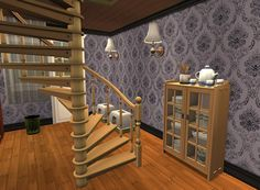 Sims Games, Sims Ideas, Divider, Stairs, Room, House, Furniture, Home Decor, Bedroom