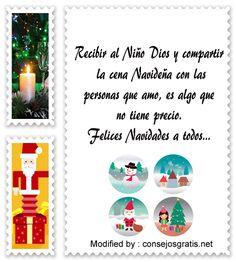 carta para enviar en Navidad,descargar mensajes para enviar en Navidad: http://www.consejosgratis.net/las-mejores-frases-para-agradecer-en-navidad/