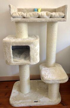 Cat Tree House, Cat House Diy, Cat Tree Designs, Diy Cat Tower, Large Cat Tree, Cool Cat Toys, Devon Rex, Cat Playground, Cat Room
