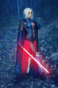 Sith from Star Wars by Jessica Nigri @ twitter.com/OJessicaNigri - More at https://pinterest.com/supergirlsart #jessicanigri #cosplay #girl #cosplaygirl #hot #sexy #starwars #jedi #lightsaber