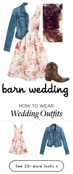 The Dress Sch Barn Wedding By Abcraig On Polyvore Featuring Chi White House Black Market