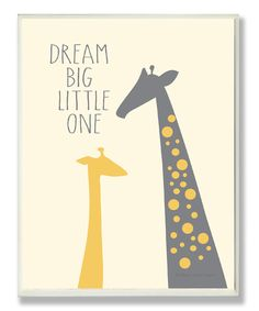 Dream Big Little Ones. Yes! This is what I tell my 2 little ones!!!!