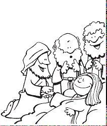 Jesus Heals Peters Mother In Law For Kids