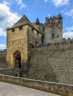 The Château de Beynac, Main Entrance by philhaber, via Flickr