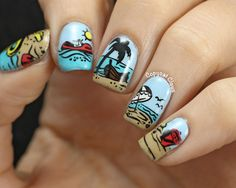 Copycat Claws: Sunday Stamping - Summer Nails