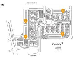 Camden Greenway properties featuring Amazon Locker locations