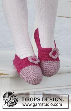 Free pattern-Crochet slippers