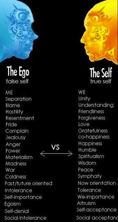#Ego vs #Self  You will never be happy unless you learn to live with your self  http://ozhealthreviews.com/health-tips/7-tips-for-good-mental-health/